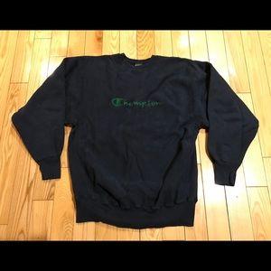 Vintage Champion reverse weave sweater xxl